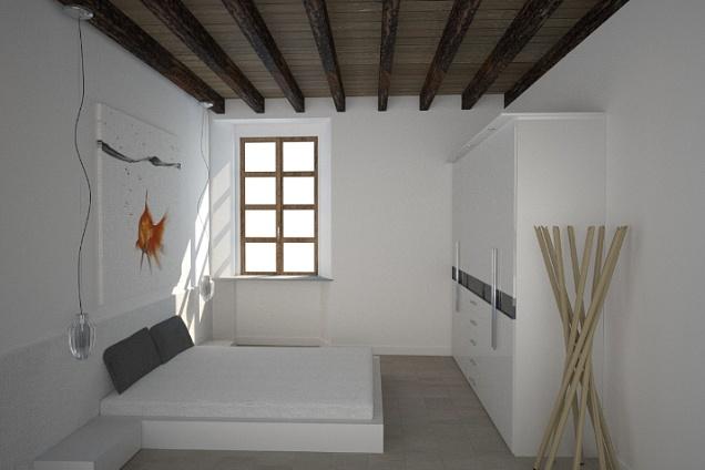 Architetti e interior design in lombardia for Foto a soffitto con travi in legno a vista