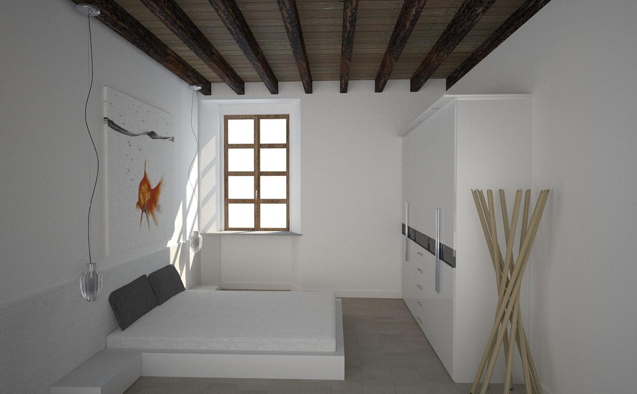 Rivestimento Pareti Camera Da Letto In Legno : Camera da letto con ...