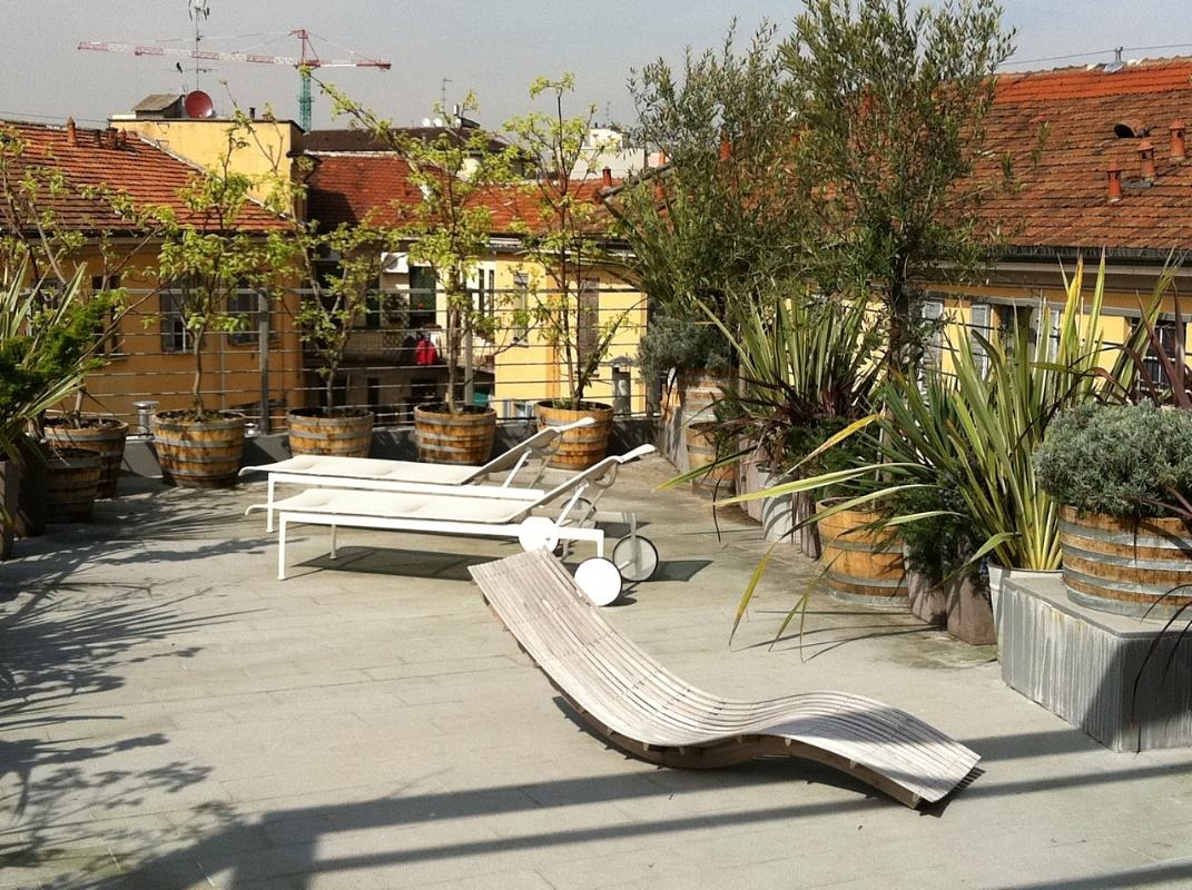 Elegant giardini pagani e terrazzo in milano with terrazzi design - Terrazzi di design ...