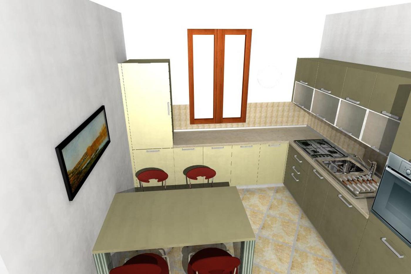 Maria ketty caravaggi progetto cucina for Case di architetti