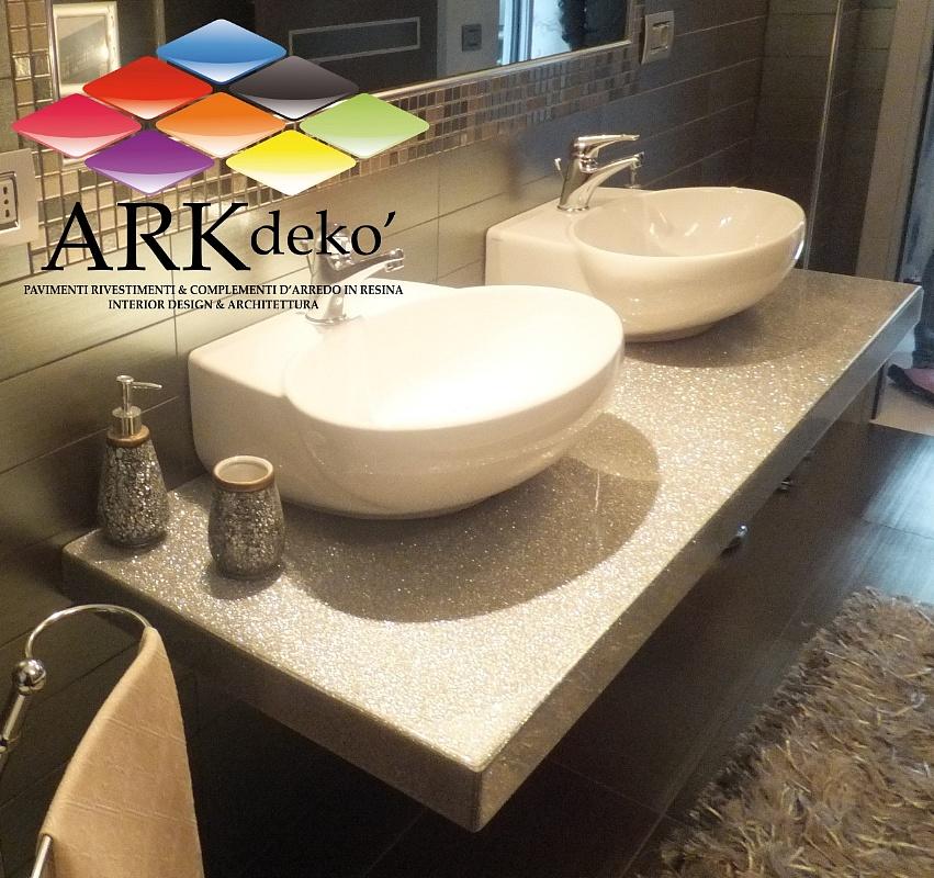 Arkdeko 39 design di cataldo angelica prodotti e info - Rivestimenti bagno resina ...
