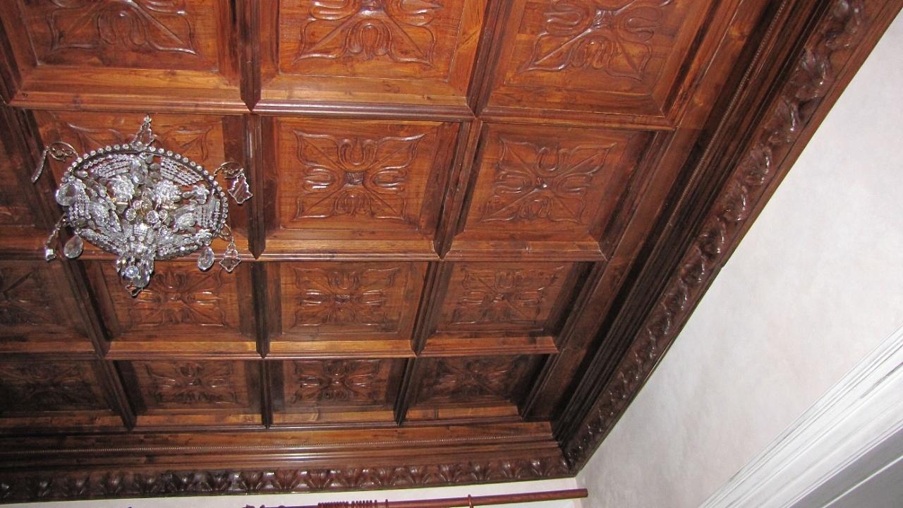 Artepronta s.a.s. - Soffitto in legno intersiato a ...
