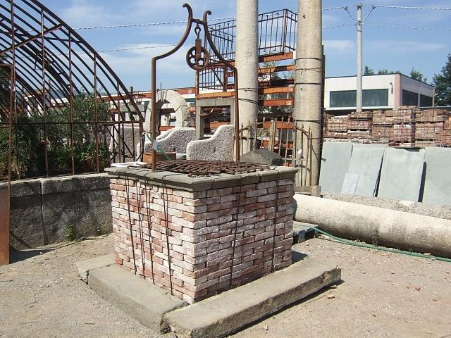 recuperando brick and stone pozzi in pietra antichi