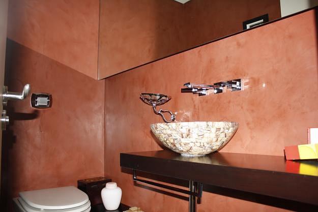 Baño Microcemento Alisado:Il microcemento è un pavimento con uno spessore medio di circa 3 mm