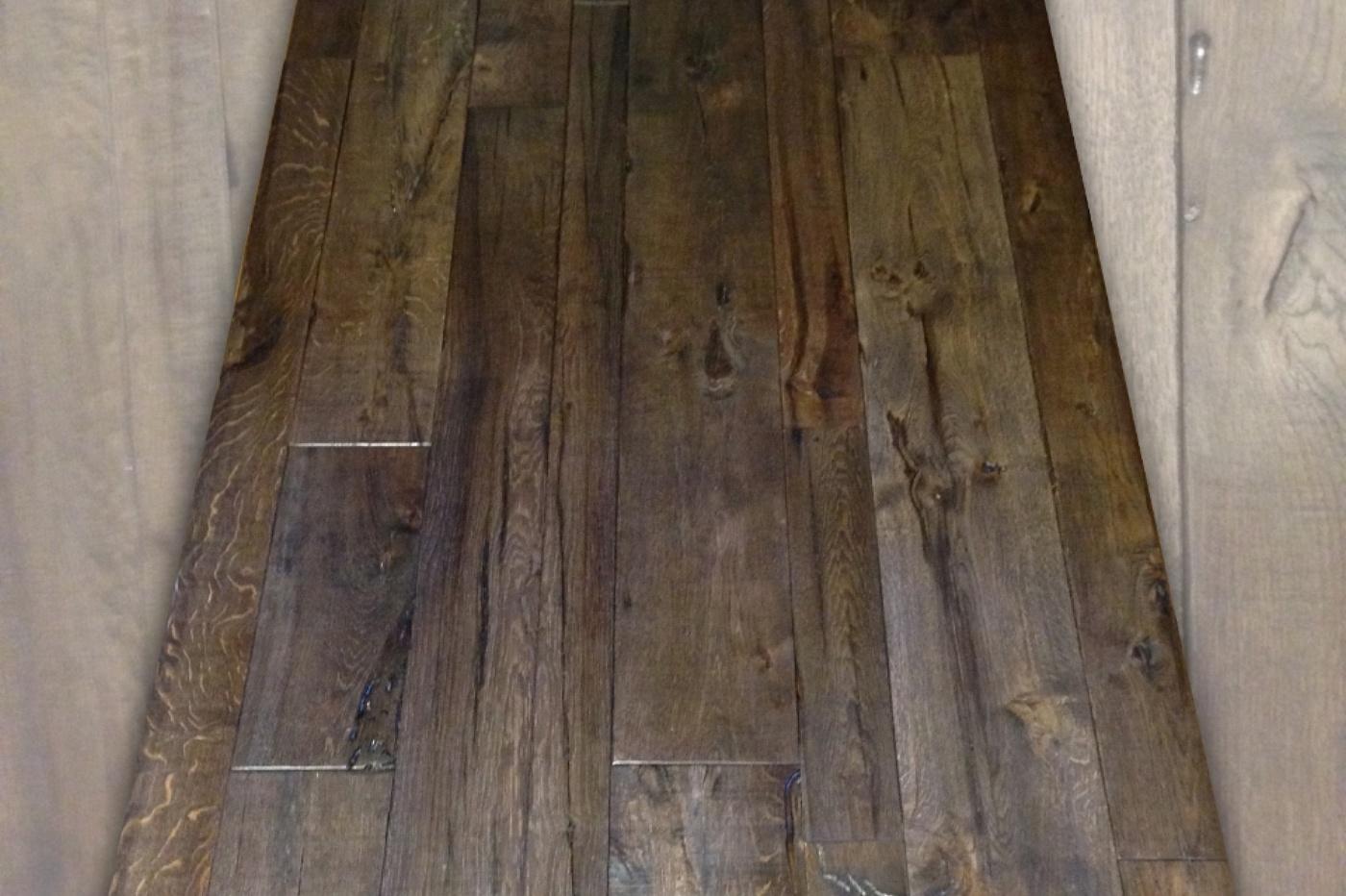 A P I - Antichi Pavimenti Italiani - Pavimento a listoni in legno antico di recupero ...