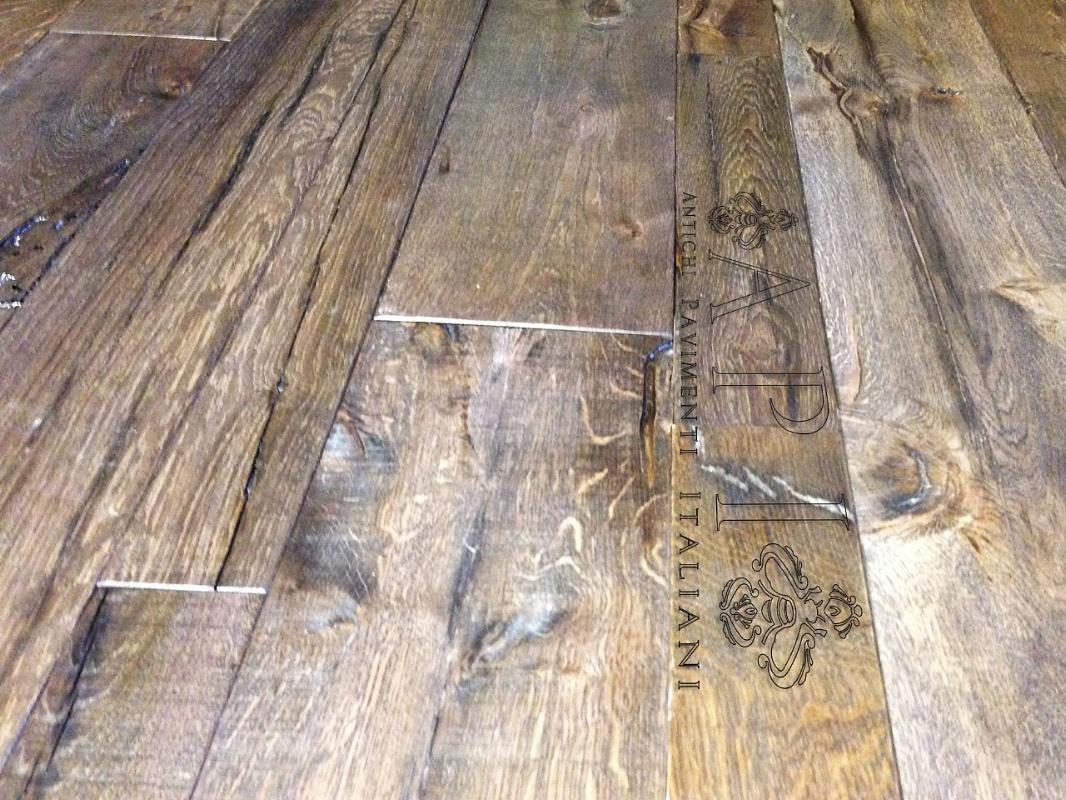 Favoloso A P I - Antichi Pavimenti Italiani - Pavimento a listoni in legno  FO47