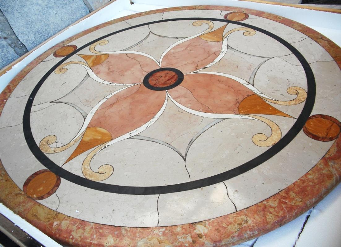 Tavoli Di Marmo Da Giardino : La bottega delle arti antiche tavolo da giardino in marmi