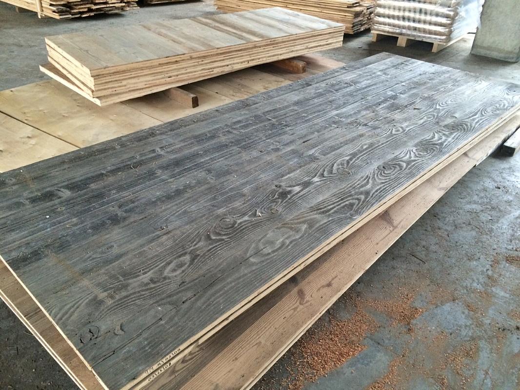 Skyway sas legnami antichi di recupero pannelli a 3 - Tavole di larice piallate ...