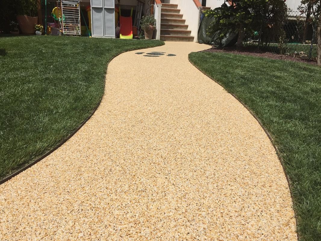 Valex parquet livorno resina drenante per esterno - Resina pavimento esterno ...