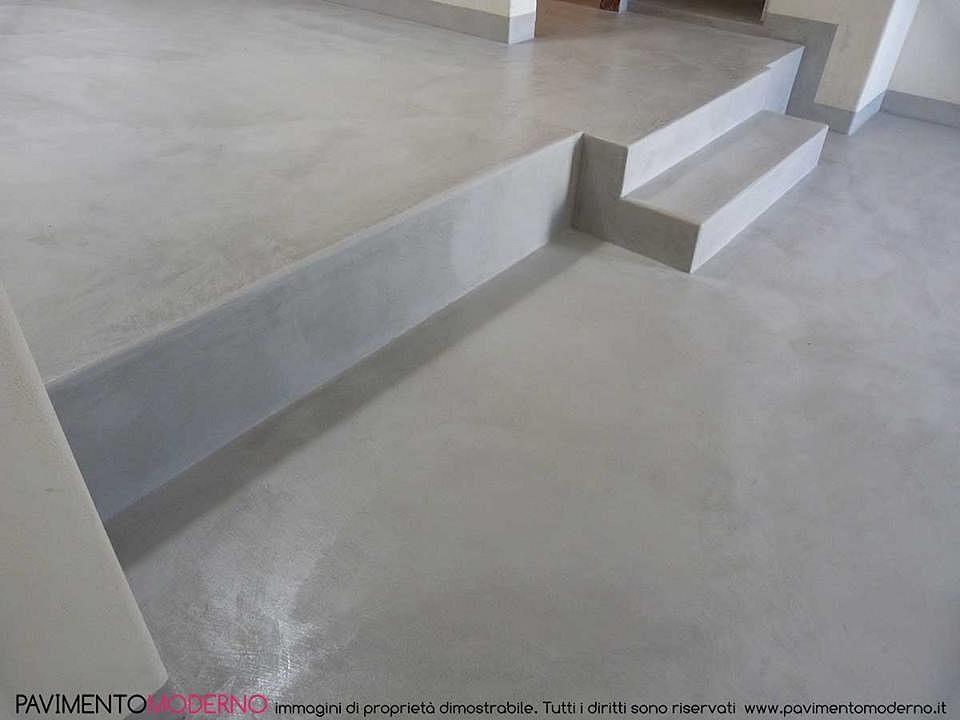 Pavimento Grigio Moderno : Pavimento moderno tadelakt moderno per pavimento resistente