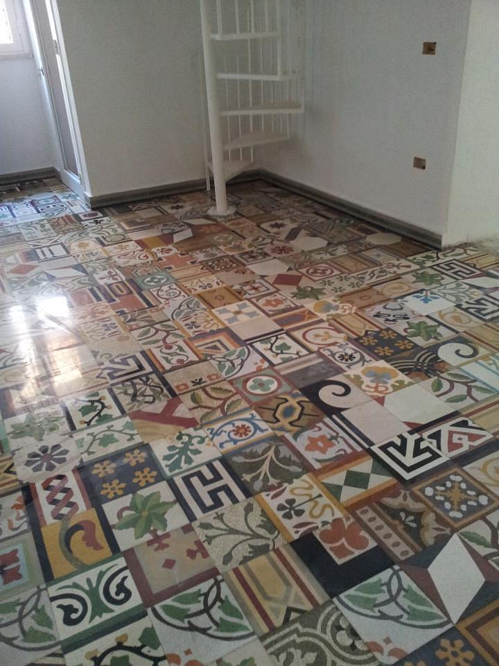 Tomasello benedetta pavimenti d 39 epoca graniglie - Pavimenti decorati ...