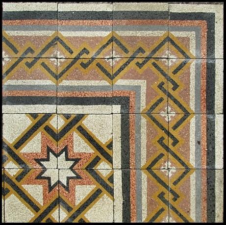 Piastrelle di graniglia abitazione pavimento in graniglia - La riggiola piastrelle ...