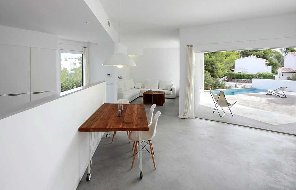 pavimento moderno pavimenti in cemento spatolato per