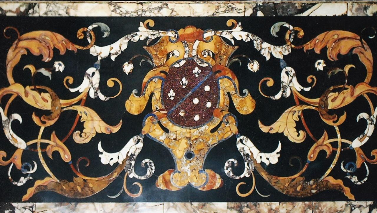Tavoli Di Marmo Intarsiati : La bottega delle arti antiche pavimenti e rivestimenti in marmo