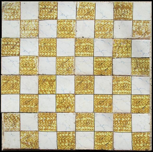 Mattonelle antiche napoletane con cristalline colorate - La riggiola piastrelle ...