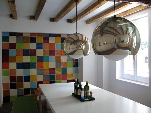 L 39 antica ceramica vietrese artigianale prodotti e info for Piastrelle cucina colorate