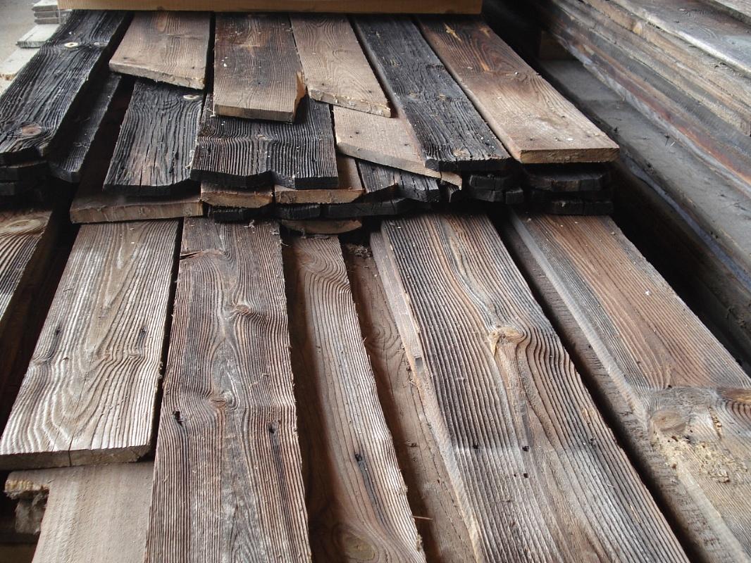 Skyway sas legnami antichi di recupero tavole bruciate for Tavole colori per pareti