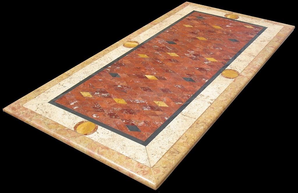 ... per interno esterno tavolo da interno e esterno realizzato con marmi