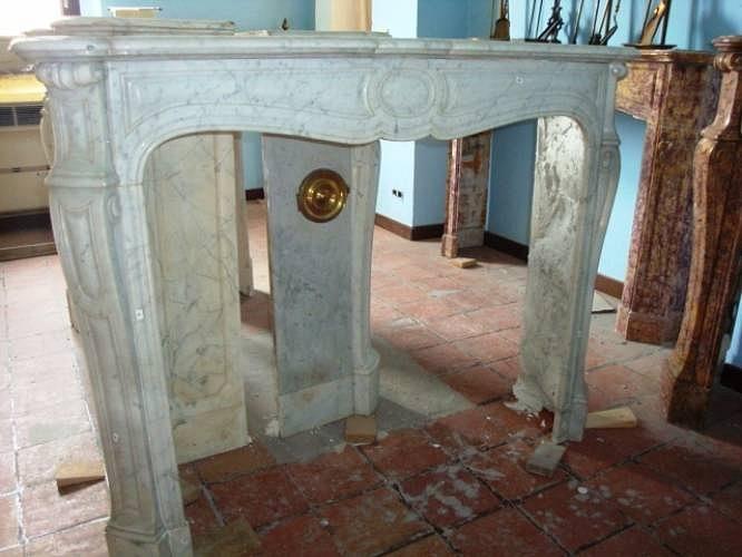 Camino In Marmo Bianco : Camino in marmo classico camini in marmo peotta armando