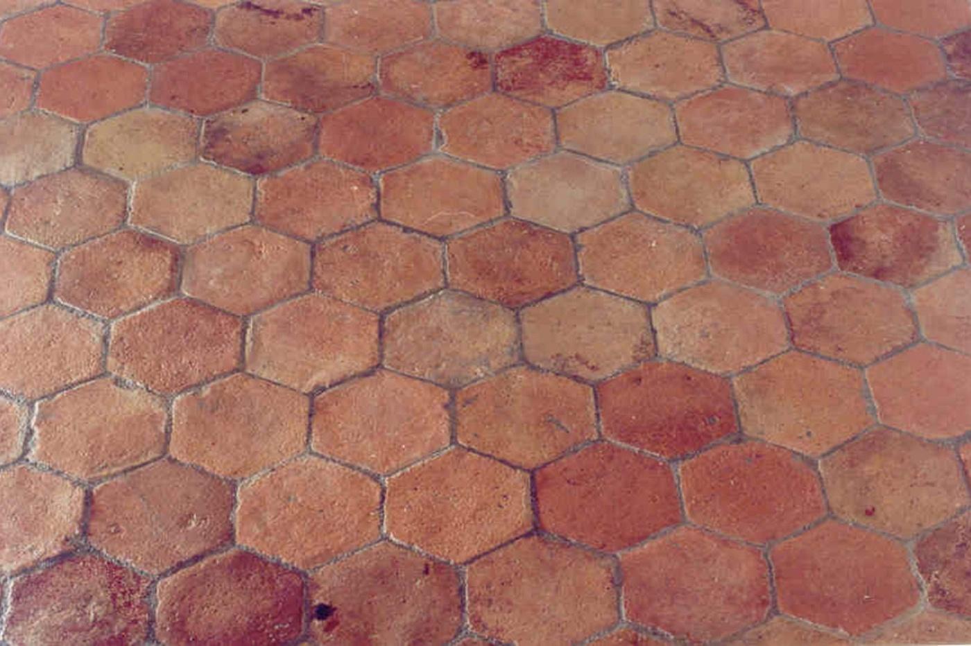 Pavimenti In Cotto A Spina Di Pesce : Sols interni di prestigio pavimento in cotto esagonale