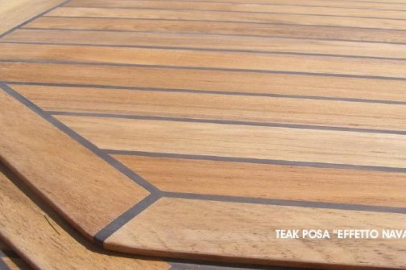 Antico cadore srl parquet a listoni per esterno in teak for Gres effetto teak