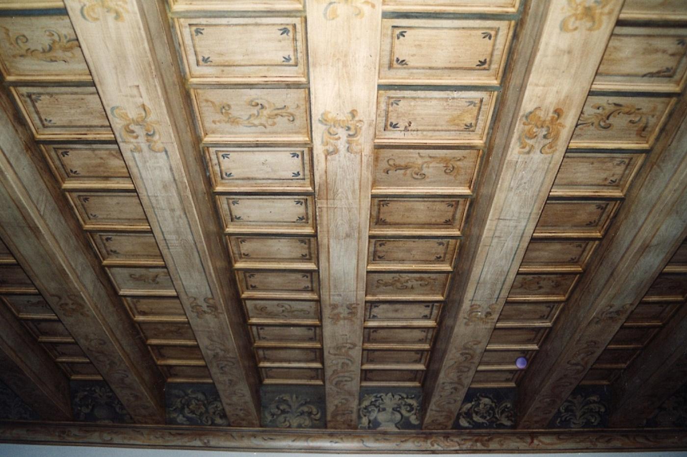Sols interni di prestigio soffitti in legno dipinti - Soffitti decorati ...
