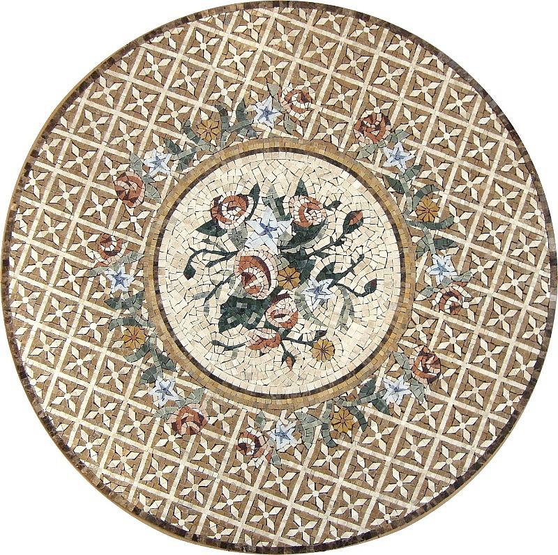 Domus aurea mosaici tappeti di pietra for Mosaici in marmo per pavimenti