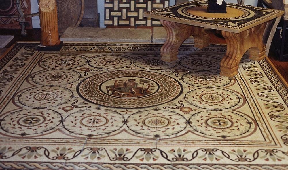 Sols interni di prestigio mosaico in marmo - Mosaico per esterno ...