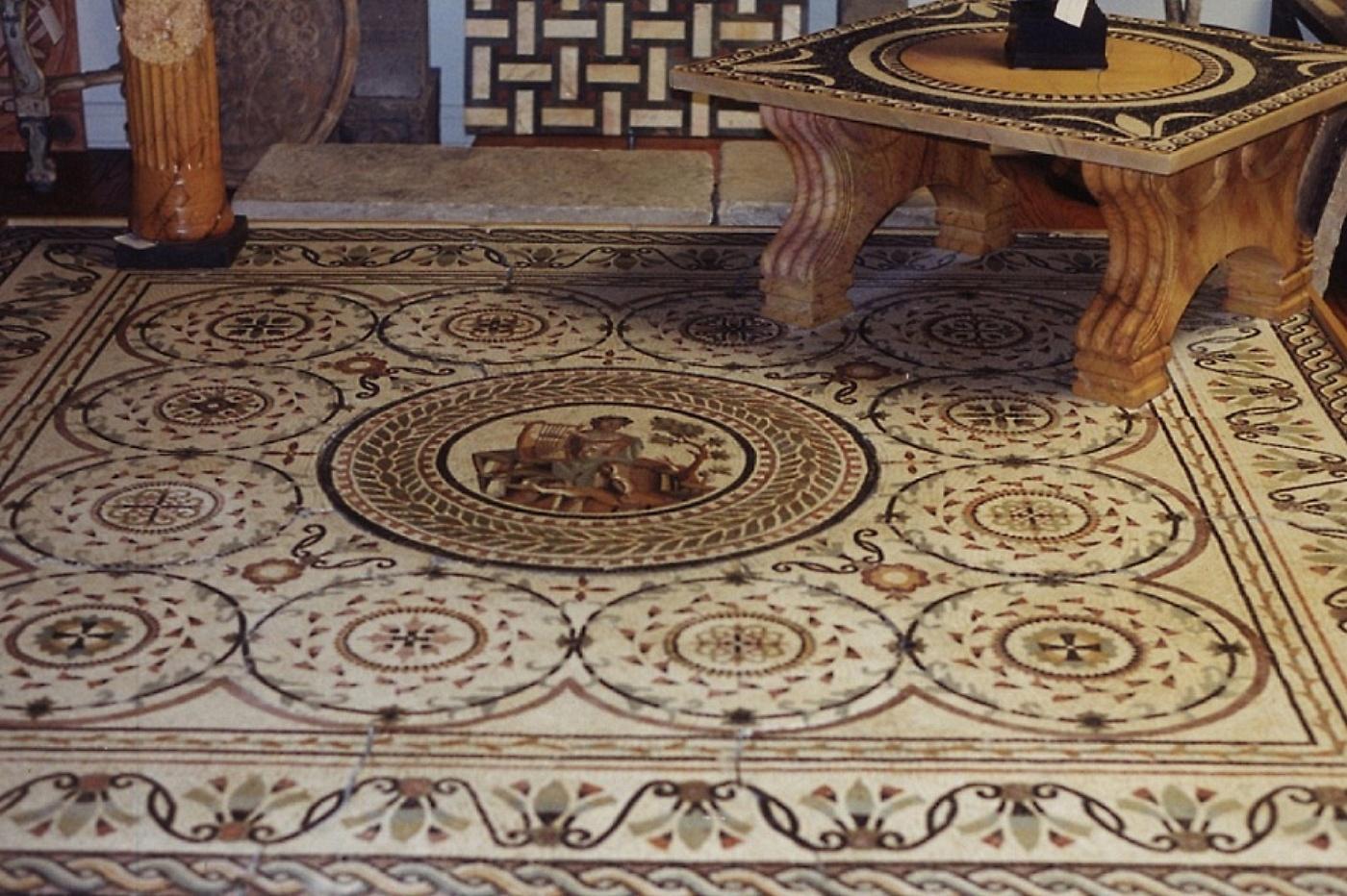 sols interni di prestigio mosaico in marmo On mosaici in marmo per pavimenti