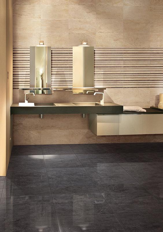 Rivestimenti bagno finto marmo idee per il design della casa - Rivestimento bagno effetto marmo ...