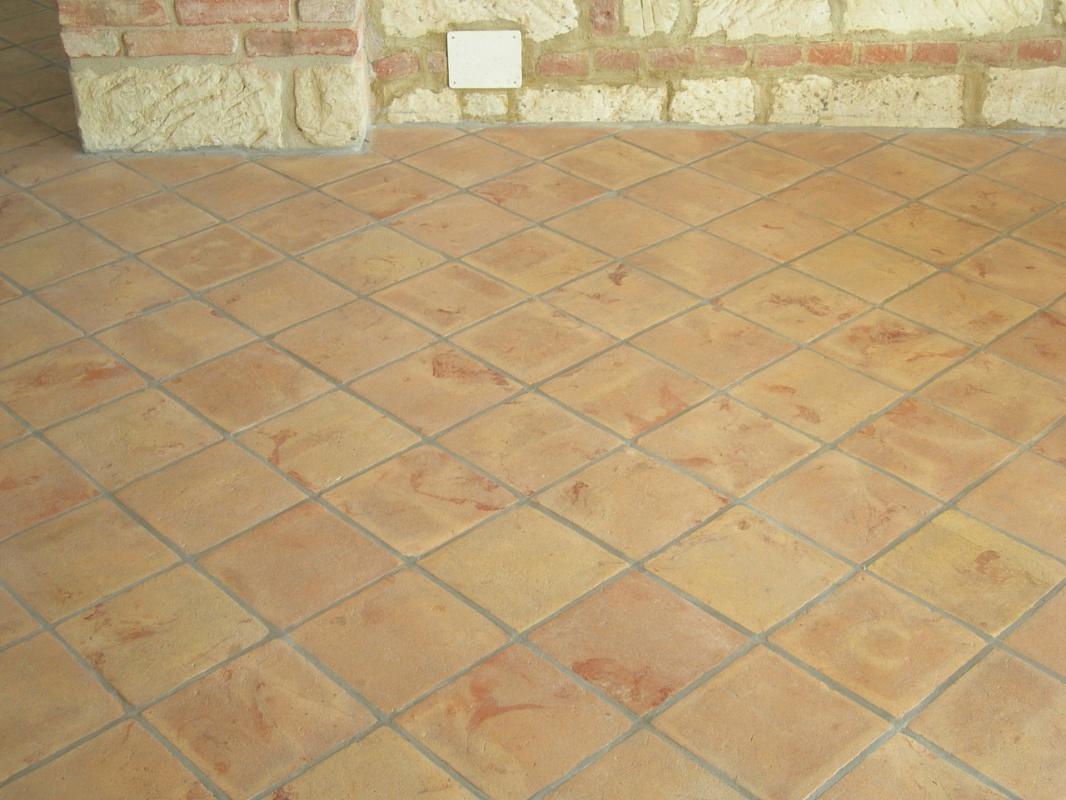 Fornace fonti srl pavimento in cotto venato for Pavimenti in cotto