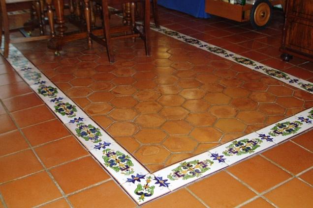 Pavimenti In Cotto Con Mosaico : Pavimenti in cotto in sicilia u eu e trovapavimenti