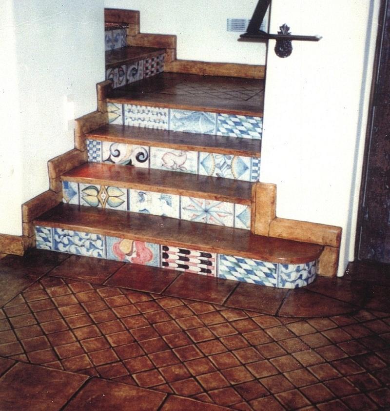 Pavimenti in cotto fatto a mano nel formato quadrato per pavimento e ...