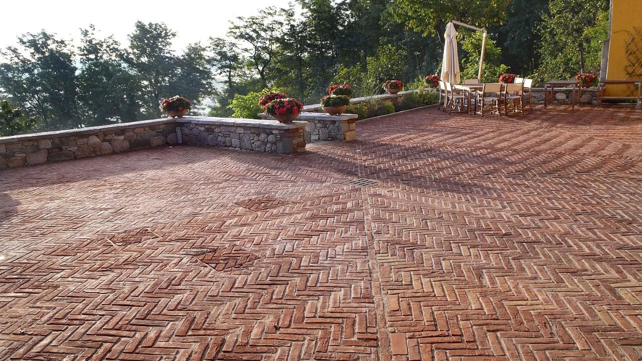 Fornace fonti srl pavimento per esterno - Pavimentazione giardino senza cemento ...