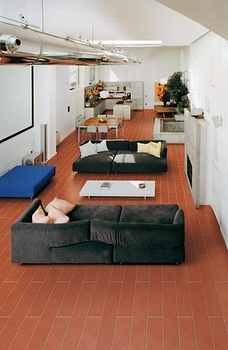 Il palagio cotto pregiato imprunetino serie loft for Arredamento moderno su pavimento in cotto