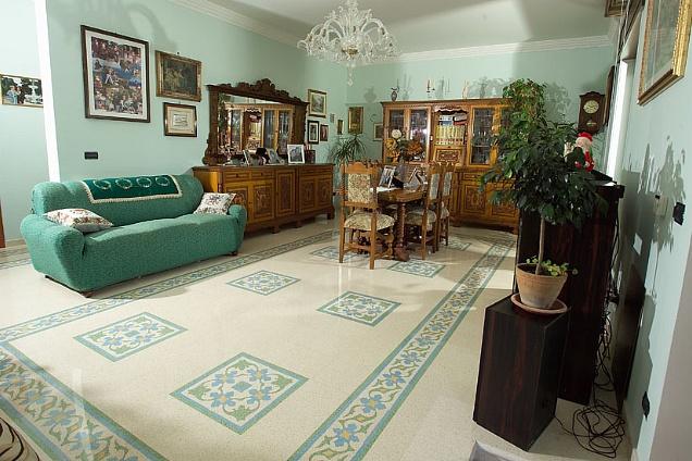 Pavimenti in graniglia cementine seminato veneziano for Pavimenti in graniglia e arredamento moderno