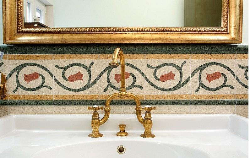 bagno Cementine disegno : La Mattonella - Pavimenti in graniglia >> TrovaPavimenti.it