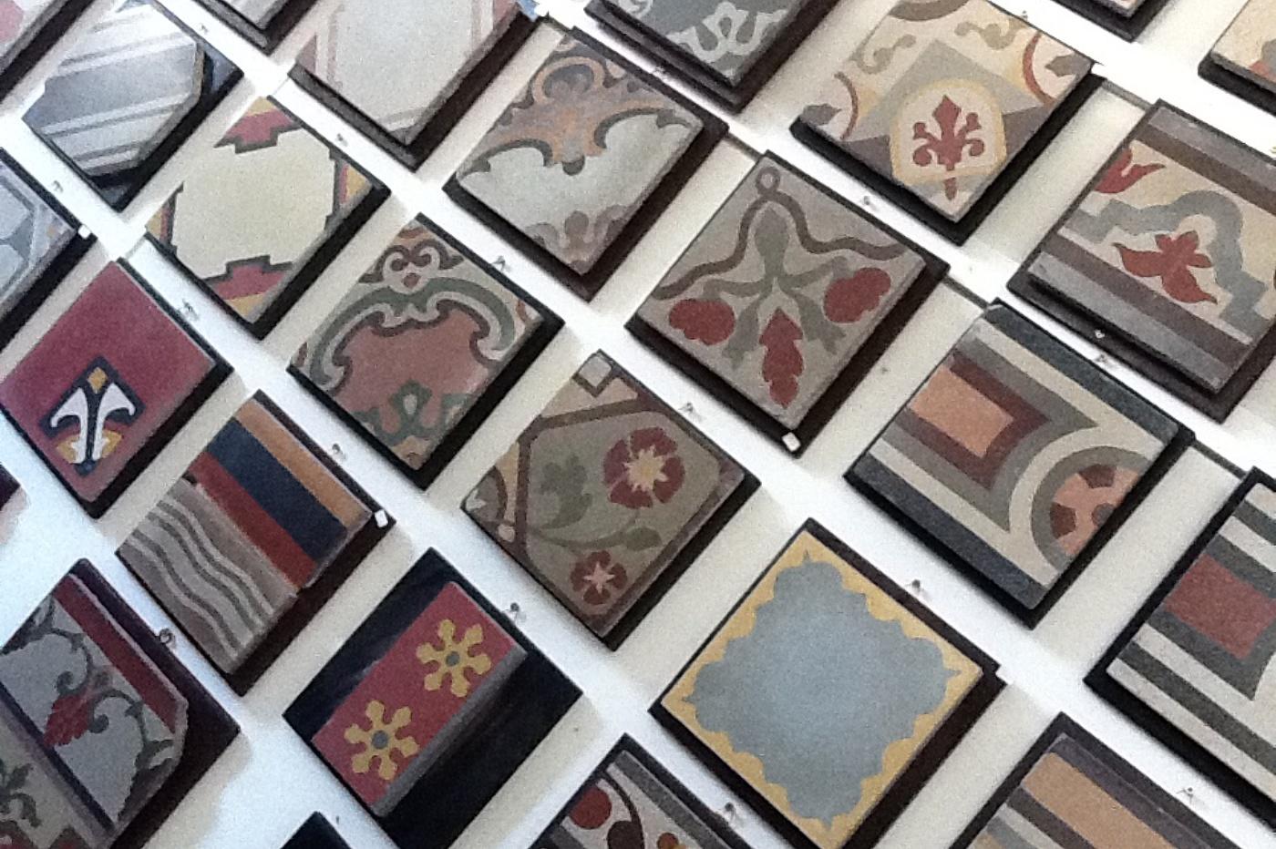Tomasello benedetta cementine decorate - Piastrelle di graniglia ...