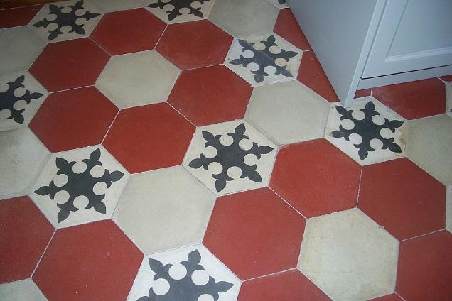 Pavimento Rosso E Bianco : Pavimenti in graniglia cementine seminato veneziano esagonale
