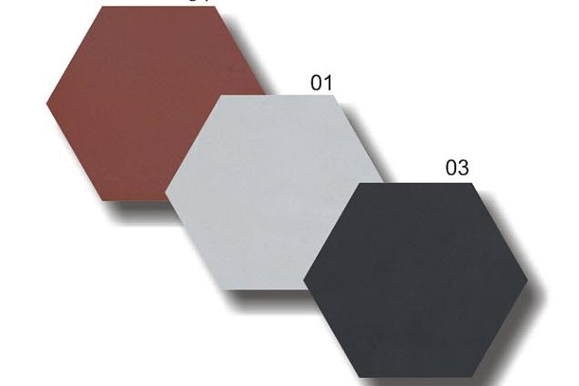 Piastrelle Esagonali Bianche : Pavimenti in graniglia cementine seminato veneziano esagonale