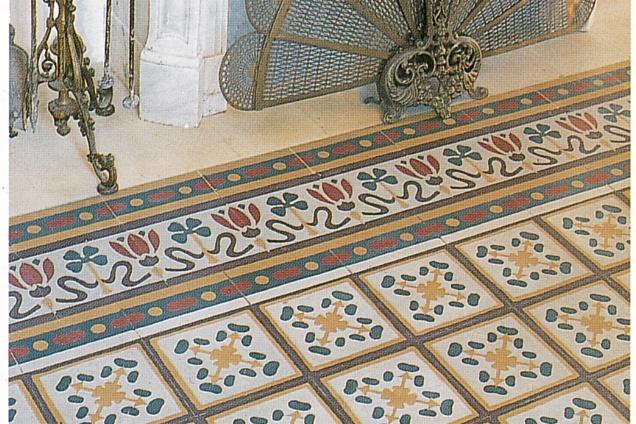 Pavimenti in graniglia cementine seminato veneziano altro stile