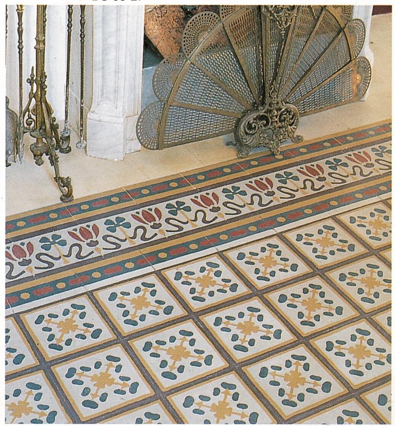 Tomasello benedetta pavimenti in pastina di cemento for Cementine liberty