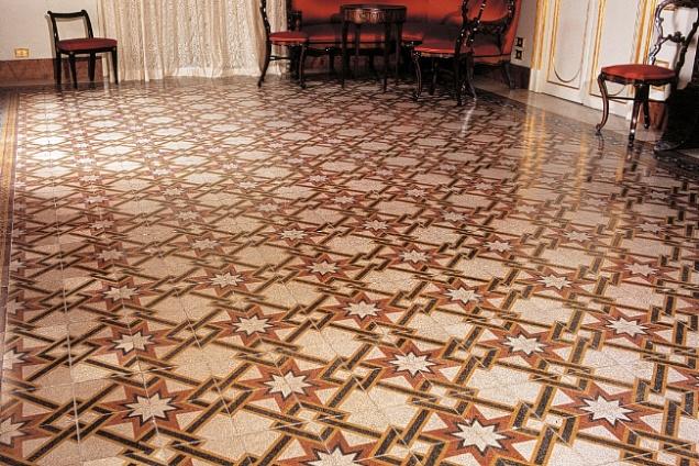 Recupero pavimenti graniglia