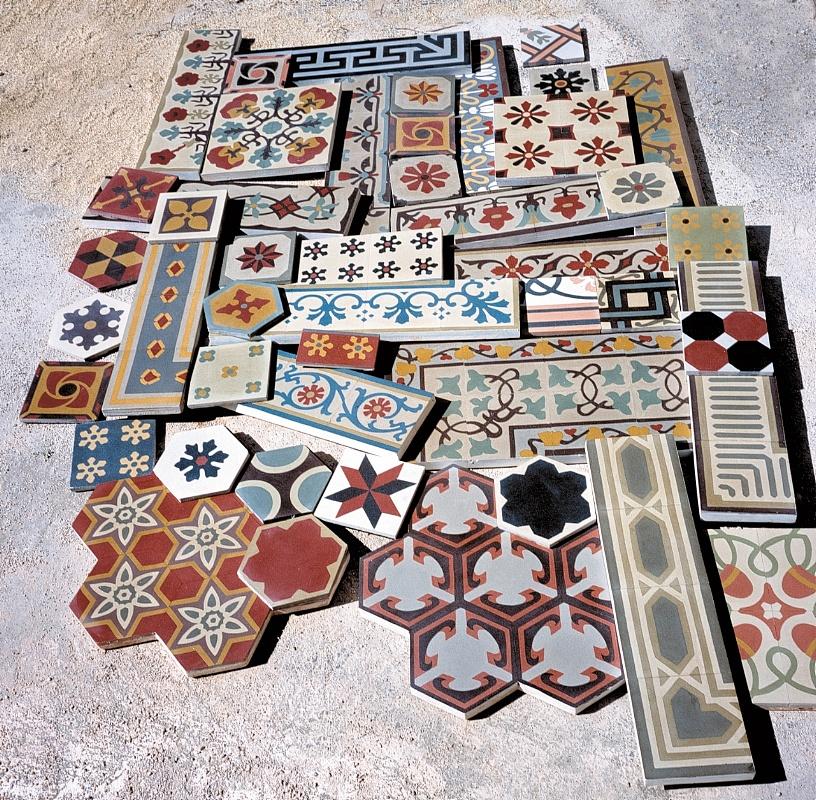 Tomasello benedetta pavimenti in pastina di cemento piastrelle in graniglia di cemento - Piastrelle di graniglia ...
