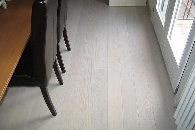 Legno Bianco Sbiancato : Meglio tavolo in legno bianco minimal shabby chic teak massello