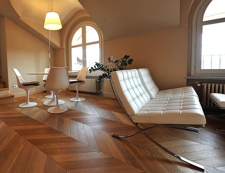 Giorio pavimenti in legno gonzaga - Camera da letto rovere sbiancato ...
