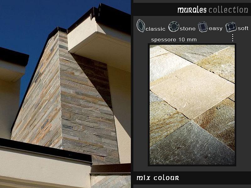 Rivestimenti Bagno In Pietra Ardesia : Rivestimento in pietra delle pareti architetto digitale