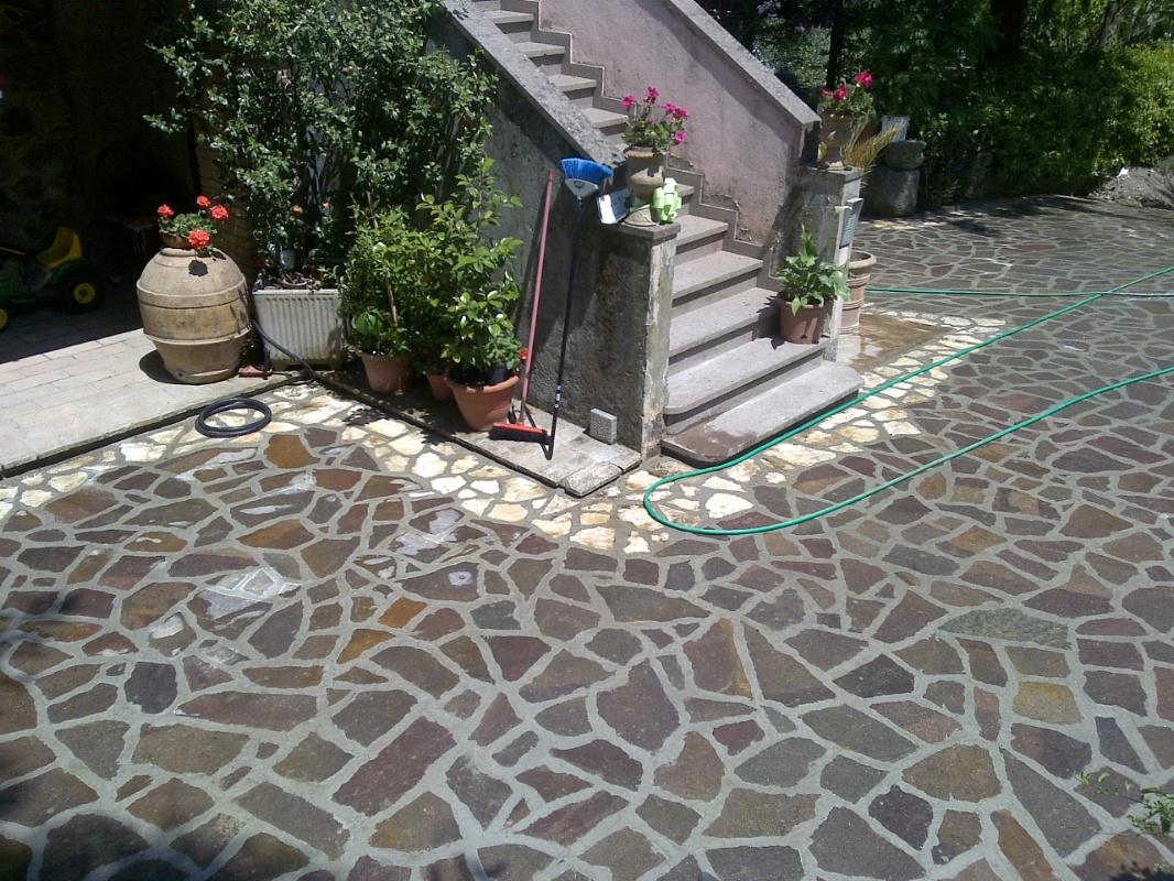 Costo porfido piastrelle per zoccolo esterno piastrelle - Posa pavimenti esterni in porfido costo al mq ...