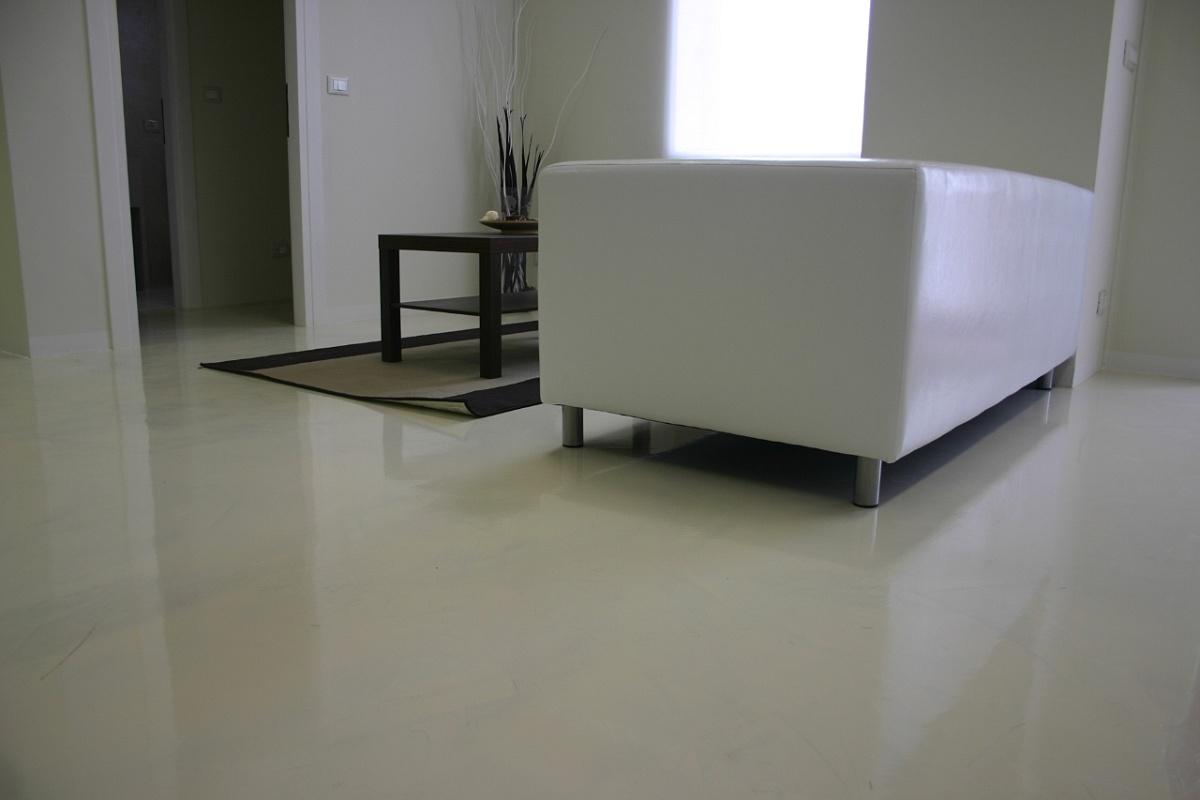 resine per pavimenti spessore