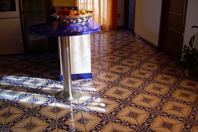 Pavimenti in maiolica artistico in sicilia u003eu003e trovapavimenti.it